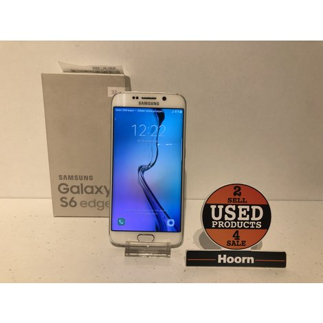 Samsung Galaxy S6 Edge 32GB White Pearl Compleet in Doos incl. lader