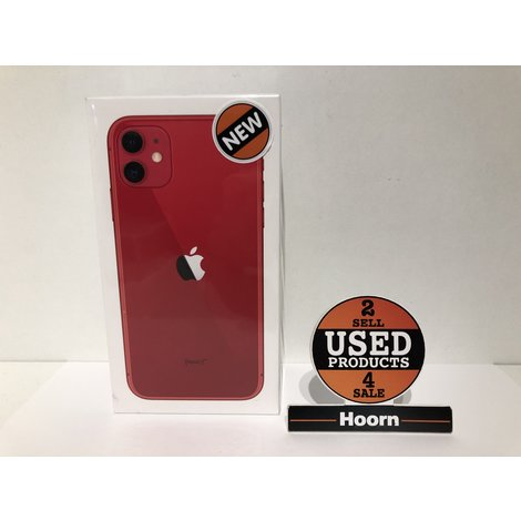 iPhone 11 64GB Red Nieuw in Seal