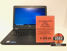 Dell Latitude E7270 12.5'' Laptop incl. Lader In Nieuwstaat