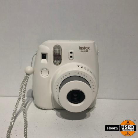 Fujifilm Instax Mini 8 Compacte Film Camera in Hoes