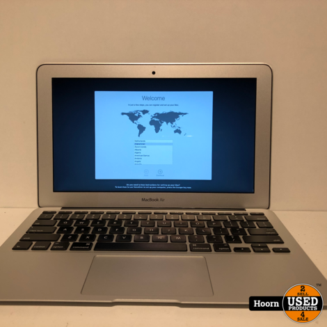 Apple Macbook Air 11.6'' Mid 2013 incl. Lader i5 1,3GHz | 4GB Ram | 128GB SSD