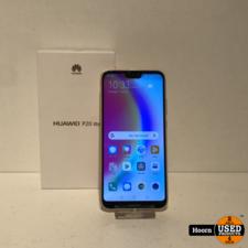 Huawei P20 Lite 64GB Sakura Pink Compleet In Doos incl. Lader