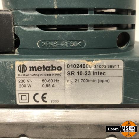 Metabo SR 10-23 Iintec Vlakschuurmachine 200 Watt