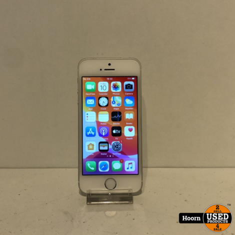 iPhone 5 SE 32GB Silver Los Toestel incl. Lader