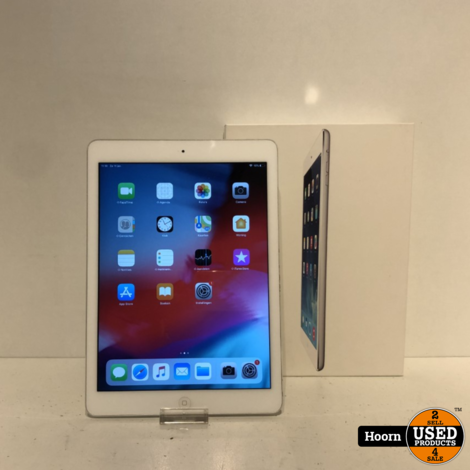 iPad Air 1 16GB Wifi Silver in Doos incl. Lader in Zeer Nette Staat