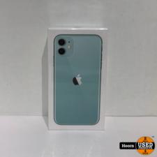Apple iPhone iPhone 11 256GB Groen Nieuw in Seal