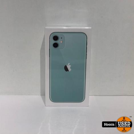 iPhone 11 256GB Groen Nieuw in Seal