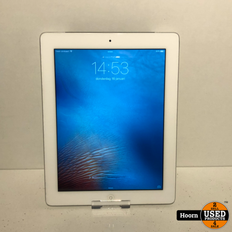 iPad 3 16GB Wifi + 3G Wit incl. Lader in Nette Staat