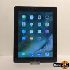Apple iPad iPad 4 16GB Wifi Zwart Losse Tablet incl. Lader in Redelijke Staat