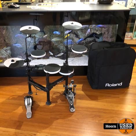Roland TD-4KP Drumstel E-Drum Compleet met Tas in Zeer Nette Staat