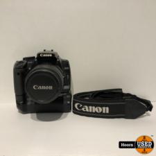 Canon Canon EOS 400D Spiegelreflex Camera met Lader incl. Canon EFS 18-55mm Lens en Canon BG-E3 Battery Grip