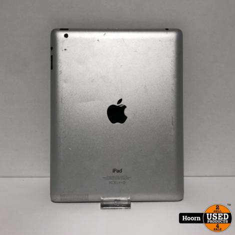 iPad 4 16GB Wifi Zwart Losse Tablet met Nieuw Scherm incl. Lader
