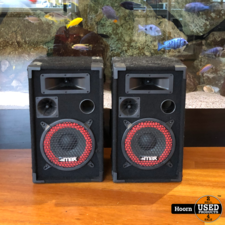 MAX XEN-3508 set PA luidspreker boxen 8
