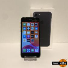 Apple iPhone iPhone 7 32GB Black in Doos incl. Lader