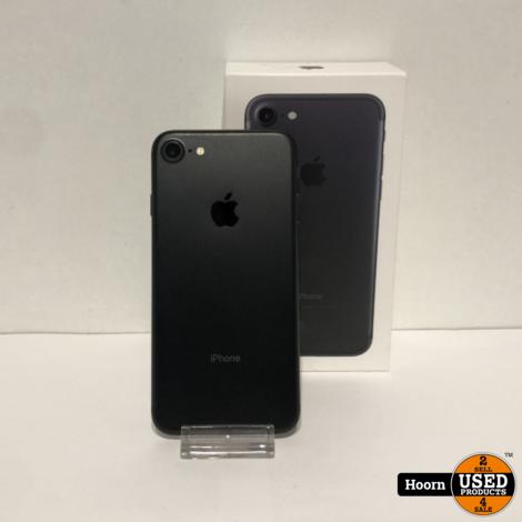 iPhone 7 32GB Black in Doos incl. Lader