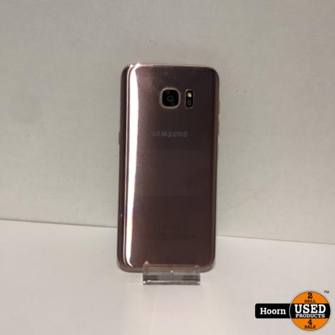 Samsung Galaxy S7 Edge 32GB Rose Gold Los Toestel incl. Lader