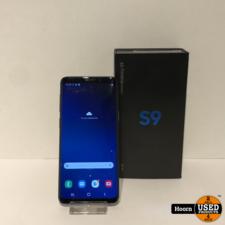 samsung Samsung Galaxy S9 64GB Coral Blue Compleet in Doos