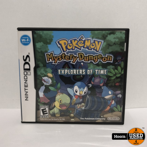 Nintendo DS Game: Pokemon Mystery Dungeon Explorers of Time