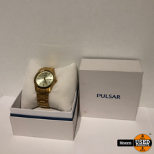 Pulsar PJ602X1 Herenhorloge Goud Kleurig in Doos