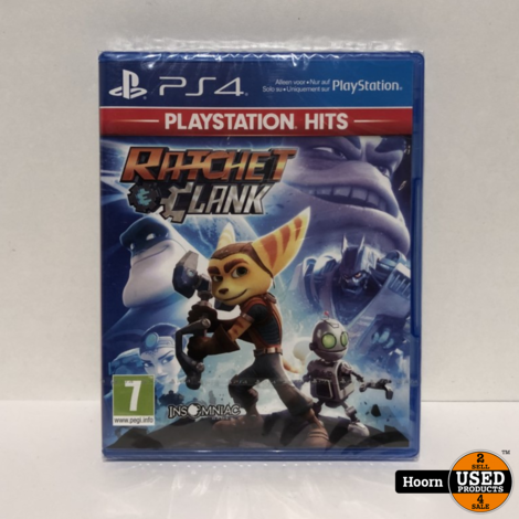 Playstation 4 Game: Ratchet Clank Nieuw in Seal