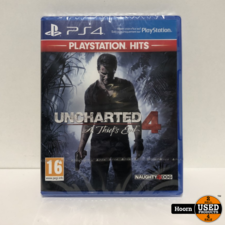 Playstation 4 Game: Uncharted 4 A Thief's End Nieuw in Seal