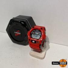 CASIO G-SHOCK G-7900A-4ER Horloge Rood in Blik