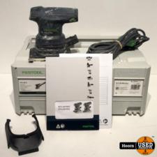 Festool RTS 400 REQ-Plus Vlakschuurmachine in Systainer