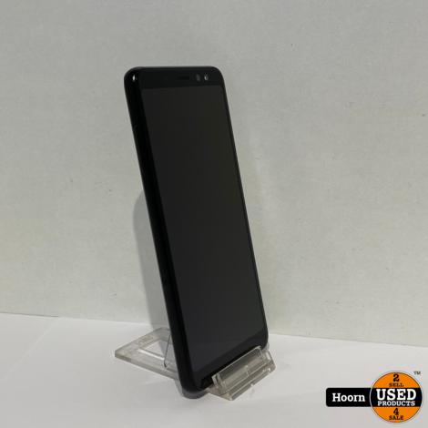 Samsung Galaxy A8 2018 32GB Zwart Dual-Sim Los Toestel incl. Lader In Nette Staat