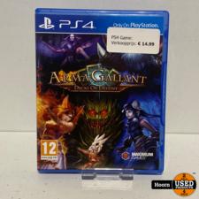 Playstation 4 Game: Arma Gallant Decks Of Destiny