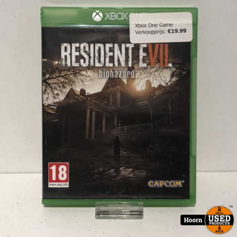 XBOX One Game: Resident Evil Biohazard