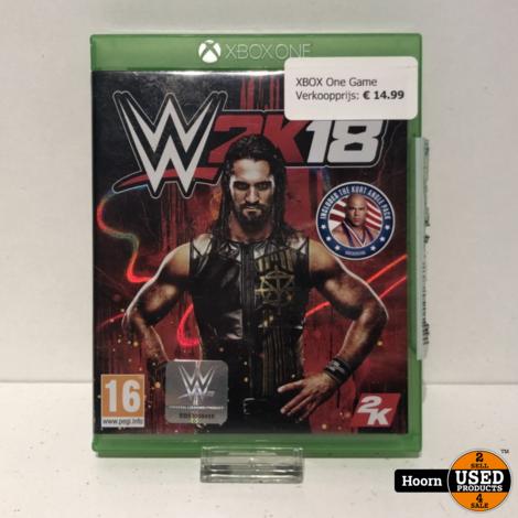 XBOX One Game: W2K18