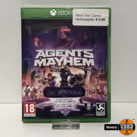 XBOX One Game: Agents Mayhem Day One Edition