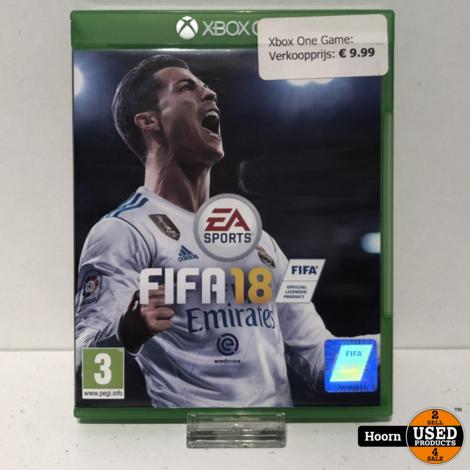 XBOX One Game: EA Sports FIFA 18