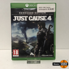 XBOX One Game: Just Cause 4 Renegade edition