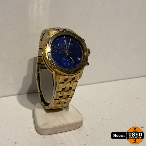 Tissot PRS 200 03.2040.400/21.c496 40mm Chronograph Quartz Goud Stainless Steel Herenhorloge