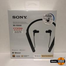 Sony WI-1000X Draadloze Noise-Canceling in-Ear Oordopjes Zwart Nieuw in Seal