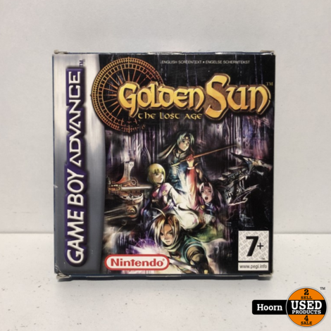 Game Boy Advance Game: Golden Sun The Lost Age