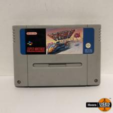 Super Nintendo Game: F-Zero Losse Cassette