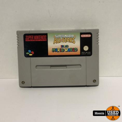 Super Nintendo Game: Super Mario All Stars / Super Mario World Losse Cassette