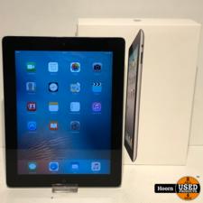 Apple iPad iPad 2 16GB Wifi Zwart Compleet in Doos