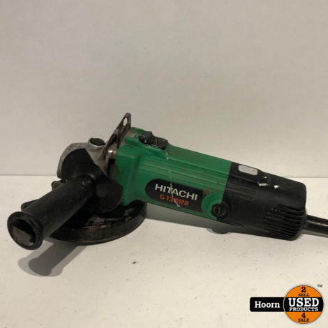 Hitachi G13SR2 Haakse Slijper 125mm 650Watt
