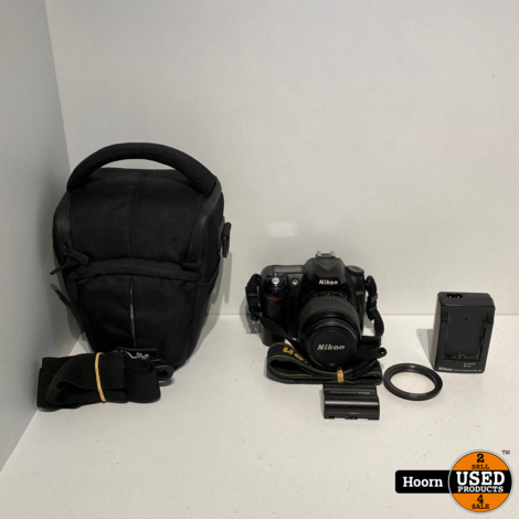 Nikon D50 Digitale spiegelreflexcamera Met AFS 18-55 Lens incl. 2 Accu's, Tas en Lader