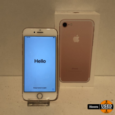 Apple iPhone iPhone 7 32GB Rose Gold in Doos incl. Lader In Nette Staat