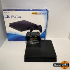 Playstation 4 Slim 500GB Zwart in Doos incl. Controller