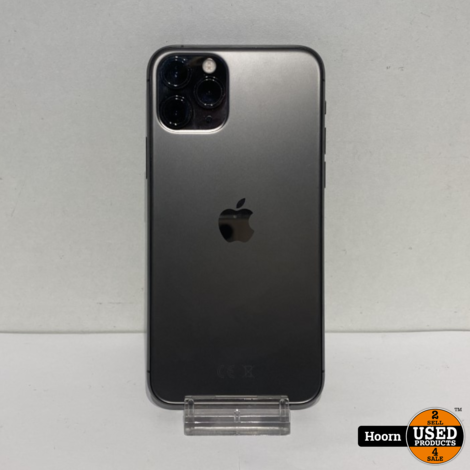 iPhone 11 Pro 64GB Space Gray Los Toestel incl. Lader, Accu 100%