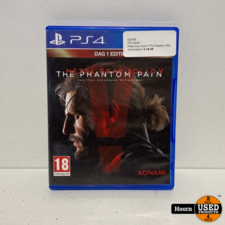 PS4 Game: Metal Gear Solid V The Phantom Pain