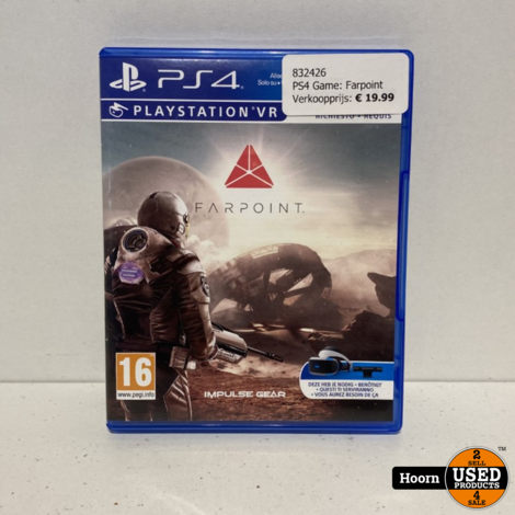 PS4 Game: Farpoint VR