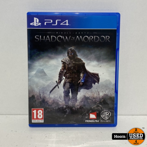 PS4 Game: Middle Earth Shadow Of Mordor