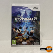 Nintendo Wii Game: Disney Epic Mickey 2 The Power Of Two