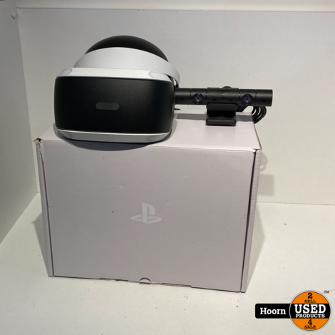 Playstation VR V2 Compleet in Doos inclusief Camera V2 in Zeer Nette Staat